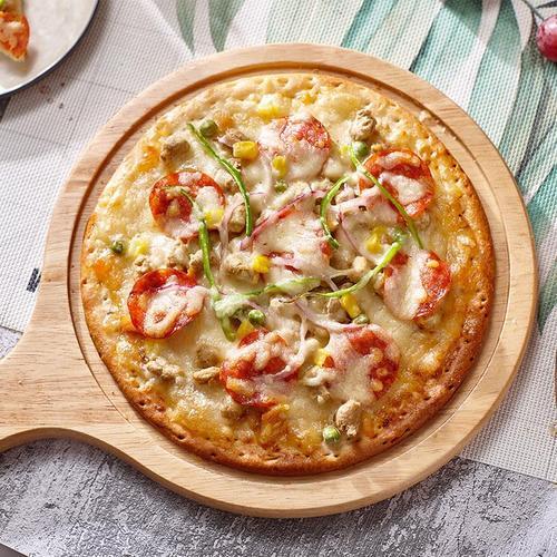 高贝加热即食披萨半成品9寸家庭披萨套餐组合装烘焙