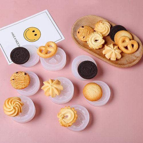 美沐儿 多款diy香薰蜡烛装饰巧克力饼干模具烘培翻糖蛋糕硅胶模具