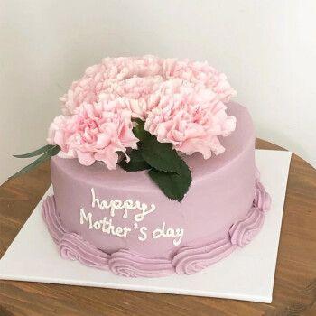 食锦谣母亲节生日蛋糕同城配送全国预定送妈妈婆婆生日礼物定制新鲜