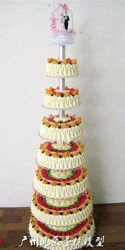 仿真蛋糕模型多层 八层婚礼开业蛋糕模型 婚庆摄影