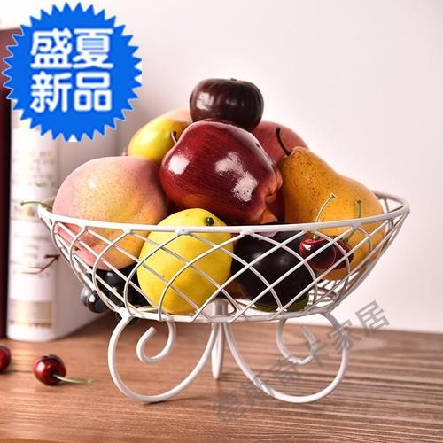 客厅水果盘水果盆家用水果篮干果盘 多层甜e点台蛋糕架