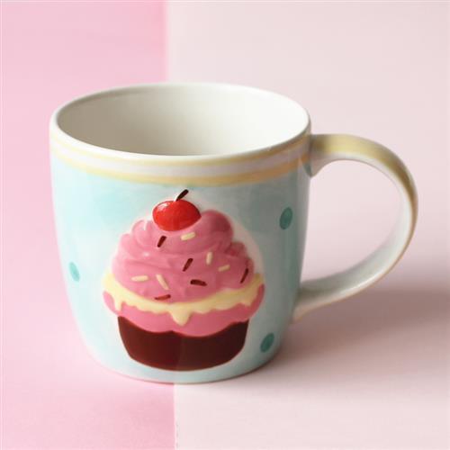 儿童喜爱卡通陶瓷餐具泰国生x日蛋糕礼物马克杯水杯饭碗水果碗盘