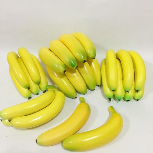仿真水果模型香蕉苹果梨橙桔草莓蛇果香蕉超市摄影摆