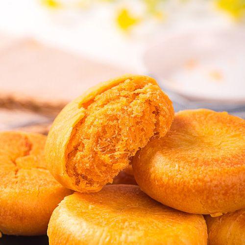 肉松饼糕点营养早餐面包绿豆饼板栗饼小吃休闲食品