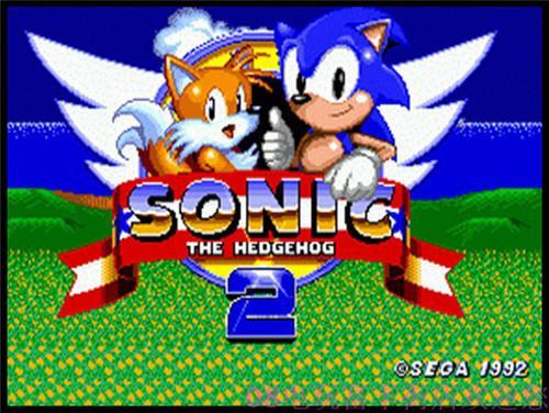 世嘉游戏卡带 索尼克2代 音速小子2代 sonic2 经典重现