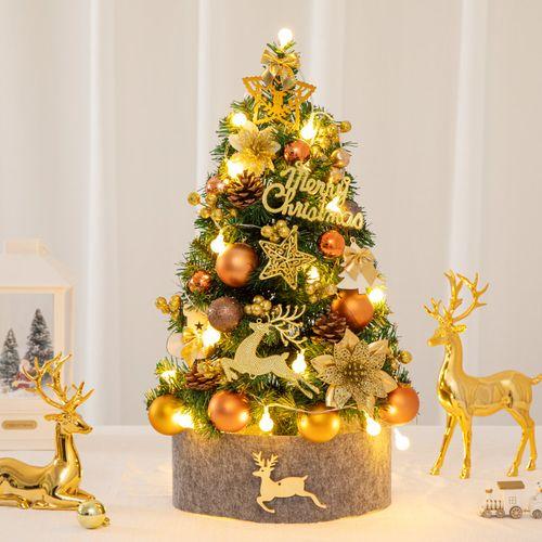5米豪华加密圣诞树1.8米1.2米小型裸树家用
