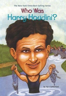 现货 英文原版 哈里胡迪尼是谁? who was harry houdini? 名人传