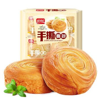 盼盼手撕面包整装早餐早点抗饿休闲零食正餐代餐法式小面包 套餐1】