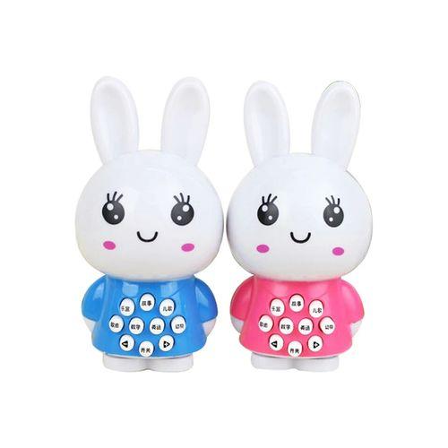 小兔子婴儿童宝宝玩具早教故事机益智 电池版兔子不送电池(颜色随机)