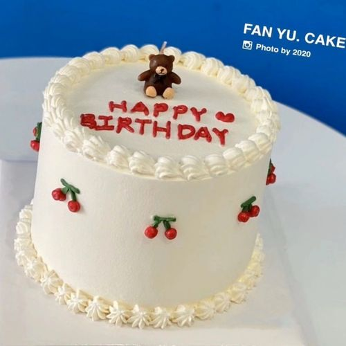 韩国ins生日蜡烛小熊蜡烛卡通可爱蜡烛创意儿童生日派对蛋糕蜡烛