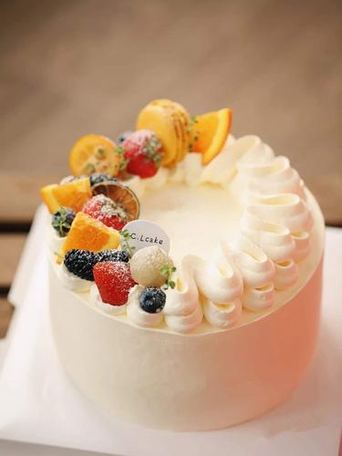植物蛋白-豆乳鲜果蛋糕 吃不胖 健康轻选择(5寸)