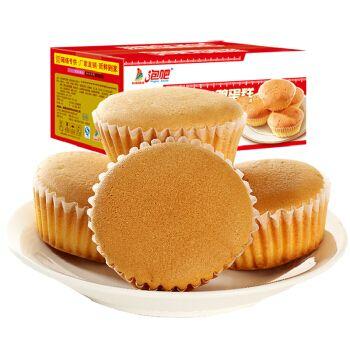 泡吧金牌鸡泡吧鸡蛋糕2斤整箱早餐面包点心不加水蛋糕