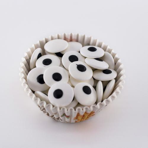 大小眼睛糖杯子蛋糕彩珠wilton装饰奶油裱花烘焙diy彩翻糖 110g装