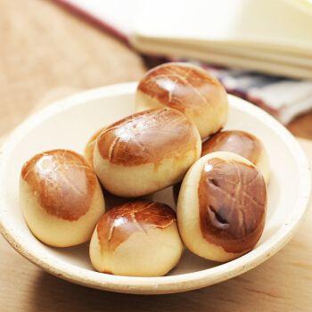 日本进口零食糕点荣光堂粟子豆沙夹心小馒头面包点心下午茶10枚入155g