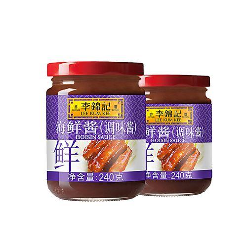 李锦记海鲜酱240g*2瓶 手抓饼红烧鱼腌制炒菜烤肉烧烤