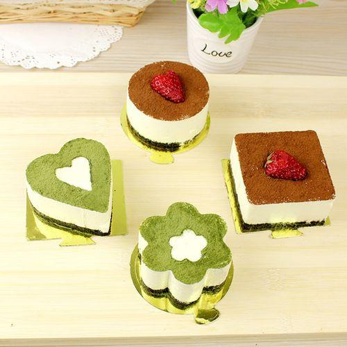 3寸慕斯模具带压盖心形慕斯圈小蛋糕煎蛋器寿司模具