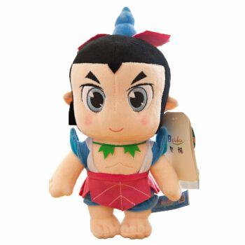 泰格睿 新葫芦兄弟金刚葫芦娃毛绒玩具公仔玩偶抱枕布