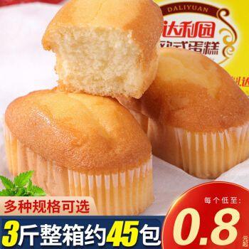 达利园欧式蛋糕营养早餐软面包整箱小零食散装网红糕点顶饿的食品