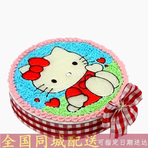 全国配送哆啦a梦叮当猫机器猫儿童卡通生日蛋糕惠民县