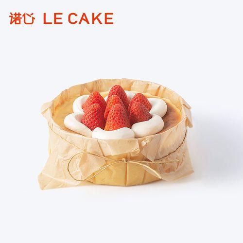 诺心lecake 巴斯克流心蛋糕 2-4人食
