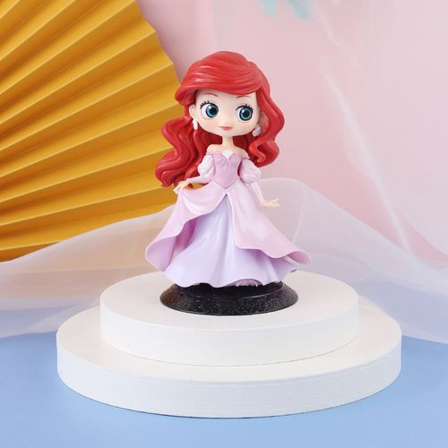 盲盒可爱动漫美人鱼公主pvc带底座 手办玩偶蛋糕烘焙