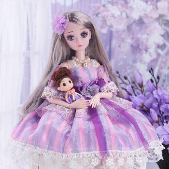 芭比娃娃大号60厘米cm怡甜芭比巴比公主单个换装娃娃女孩玩具超大仿真