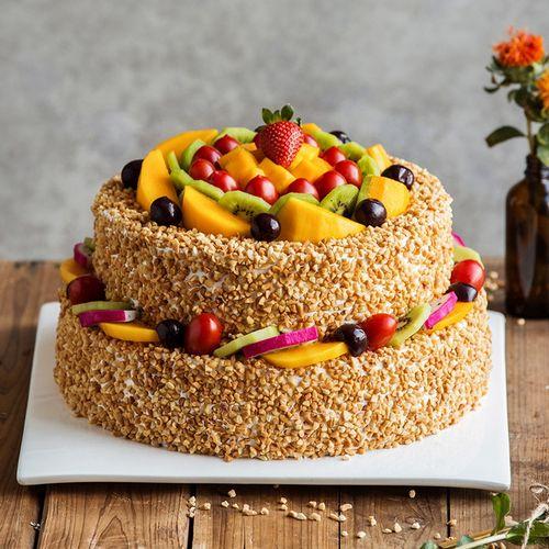 6磅双层蛋糕 阳光城堡蛋糕(曲靖)