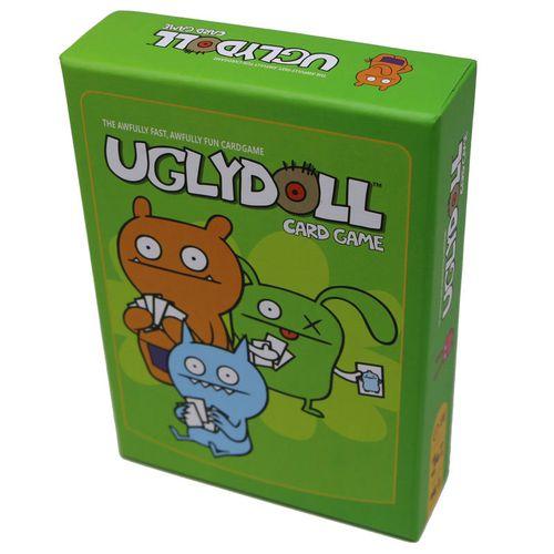桌游丑娃娃丑饼干uglydoll可爱蠢萌中文儿童益智玩具