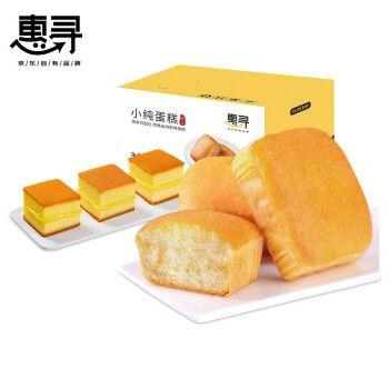 惠寻 香蕉蛋糕400g小纯蛋糕420g组合  休闲零食品饼干