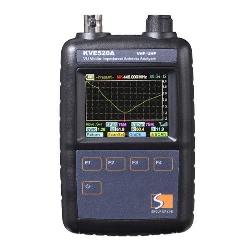 高档kve矢量网络分析仪 hf段uv段天线驻波阻抗短波分析测试 rfid