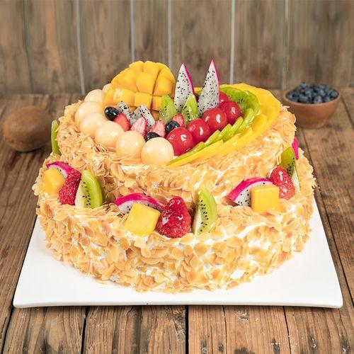 【汕头】全心全意蛋糕-2层6磅468元