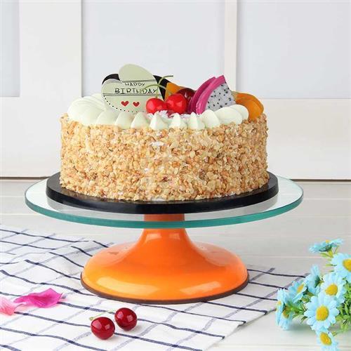 高档蛋工底托盘8转制作生日蛋糕的旋转台家用可寸裱花