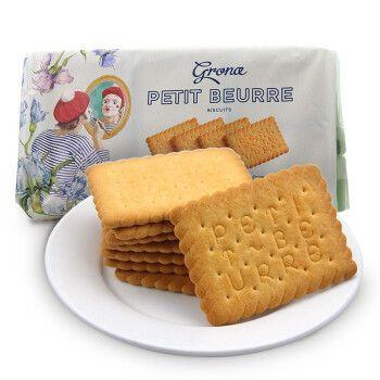 乌克兰进口 格兰娜黄油味饼干279克/袋 黄油古早味