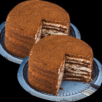俄罗斯进口提拉米苏蜂蜜奶油千层蛋糕西式糕点下午茶点心约6英寸500g