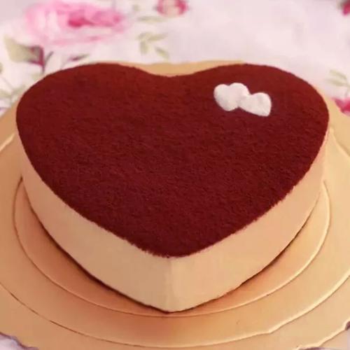 【慕斯】心型提拉米苏蛋糕8