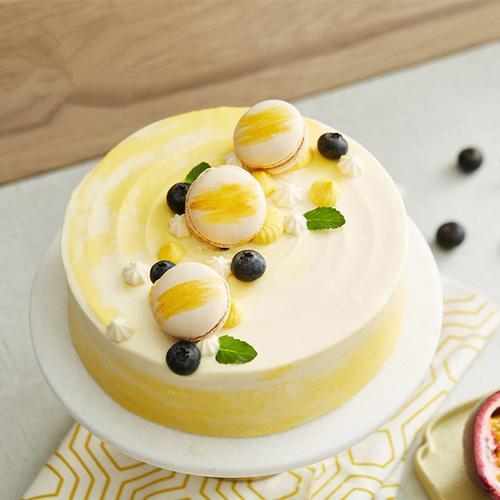 lcake盐系蛋糕-百香果