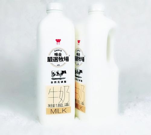 味全鲜奶冷藏开市客鲜牛乳严选牧场鲜牛奶生牛乳纯牛奶1.892l
