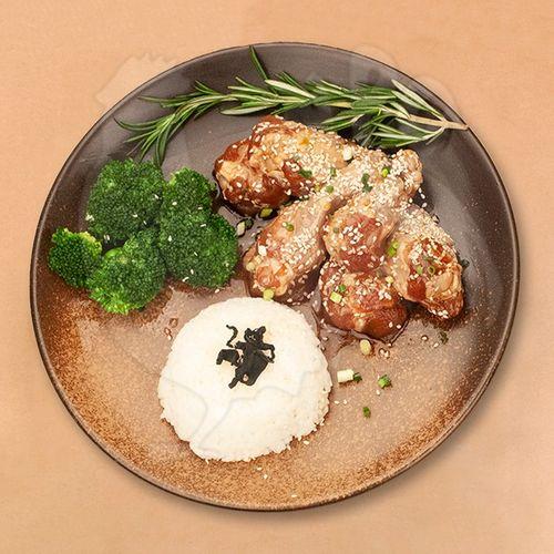 npg 照烧鸡翅根 无抗生素鸡肉 无鸡肉 健身 低脂肪 谷物饲养肉质