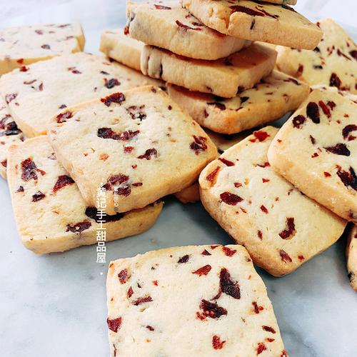 一份250g装 纯手工现做蔓越莓曲奇饼干网红奶香休闲零食伴手礼