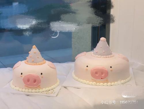 过生日的小猪猪
