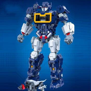 变形金刚声波积木兼容乐高擎天柱变形玩具金刚大型声波机器人男孩子高