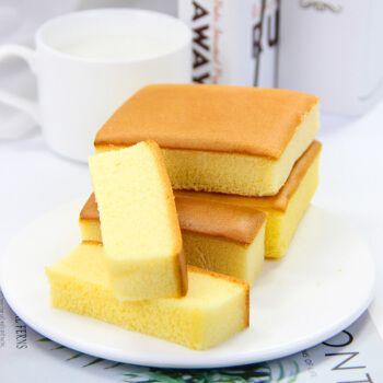 博多客 纯蛋糕软面包糕点精食品糖 适合中老年人吃的零食 混合口味