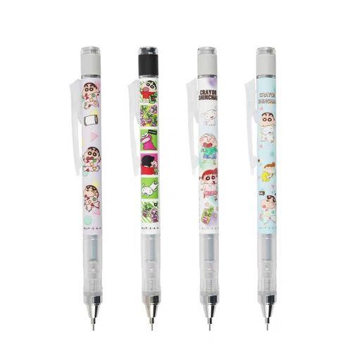 现货日本tombow蜻蜓mono月桂狗蜡笔小新自动铅笔限定款0.5文具赏