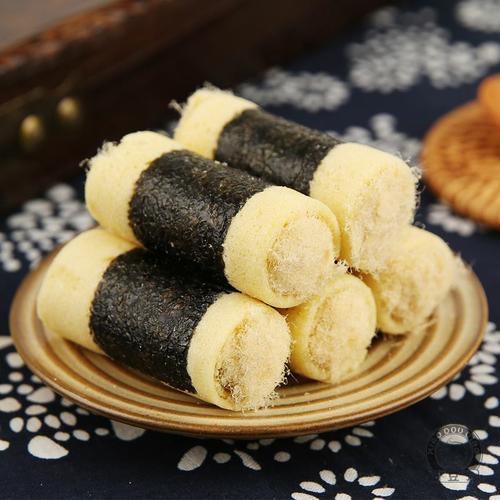 广东广州深圳珠海澳门特产美食紫菜海苔肉松鸡蛋卷酥饼小零食饼干