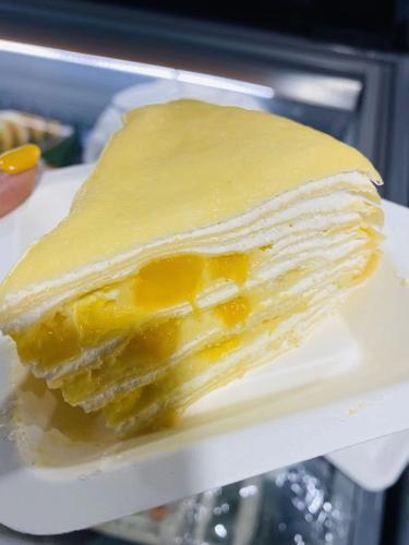 【预定】芒果千层蛋糕 一个 6寸 450g