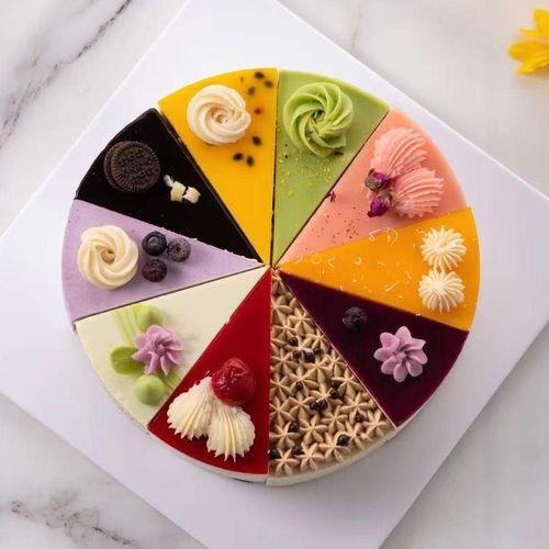 十拼慕斯蛋糕混合口味提拉米苏冰淇淋女朋友生日蛋糕配(库存充足,需要