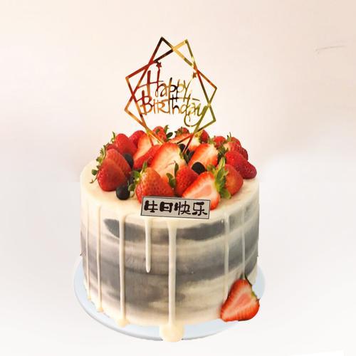 塑胶蛋糕模型奶油水果卡通塑胶仿真新款橱窗道具定制欧式蛋糕样品