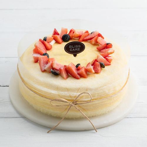 【西宁新品】榴莲可丽多 8英寸千层蛋糕,q软千层手工煎制,软糯榴莲