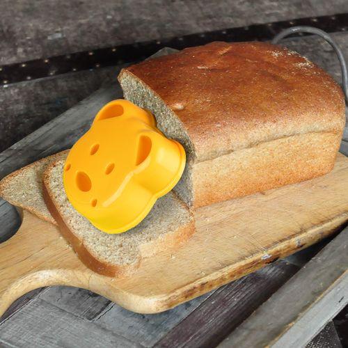 日本进口可爱小熊三明治模具早餐吐司面包制作 卡通
