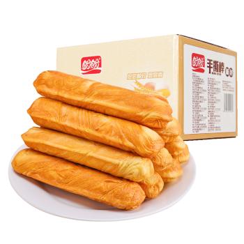 盼盼  手撕棒面包棒700g 法式早餐蛋糕糕点零食小吃面包 700g原味